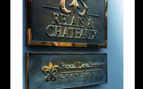 Plaque Relais et Chateaux